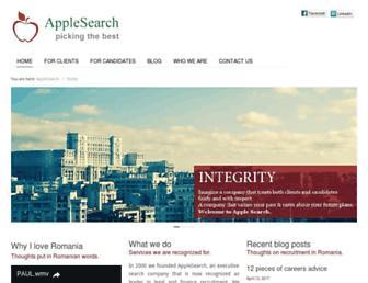 applesearch.co.uk screenshot