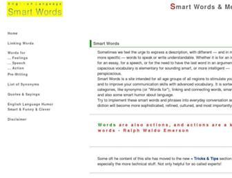 smart-words.org screenshot