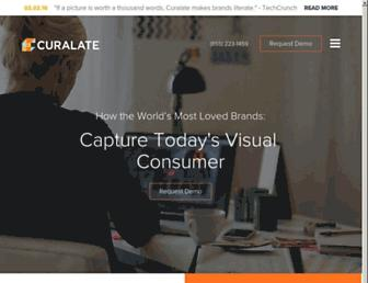 Thumbshot of Curalate.com