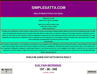 simplesatta.com screenshot