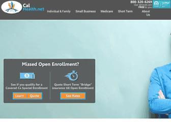 calhealth.net screenshot