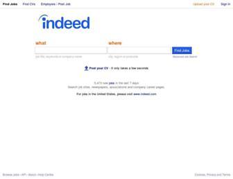 nz.indeed.com screenshot
