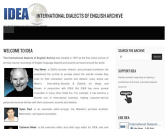 dialectsarchive.com screenshot