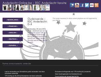 Thumbshot of Anderlecht-online.be