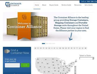 containeralliance.com screenshot