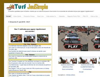 turfjeusimple.blogspot.com screenshot
