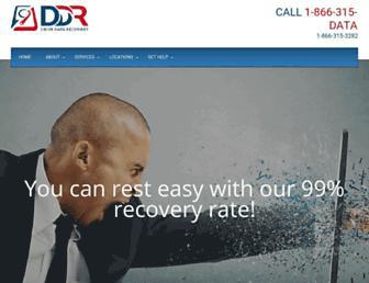 drivedatarecovery.com screenshot