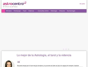 astrocentro.com screenshot