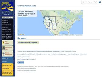 Thumbshot of Publiclands.org