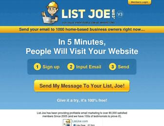 Thumbshot of Listjoe.com