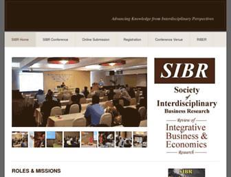 sibresearch.org screenshot