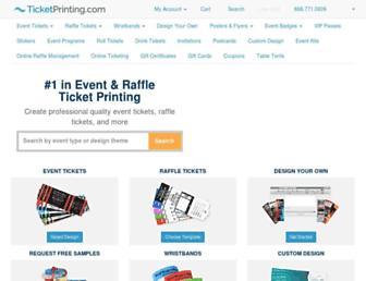 ticketprinting.com screenshot