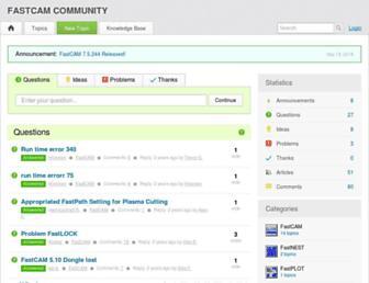 response.fastcam.com screenshot
