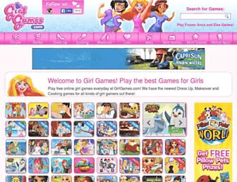 girlgames.com screenshot