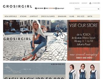 grosirgirl.com screenshot