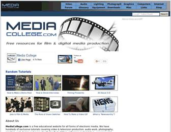 Thumbshot of Mediacollege.com