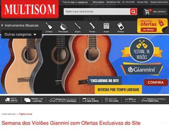 Thumbshot of Multisom.com.br