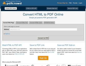 pdfcrowd.com screenshot