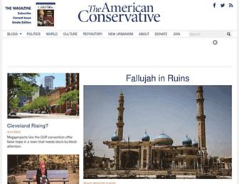 Thumbshot of Theamericanconservative.com