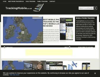 trackingmobile.co.uk screenshot