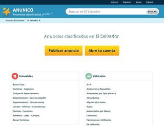 anunico.com.sv screenshot