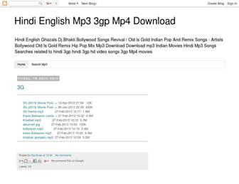 mp3songspot.blogspot.com screenshot