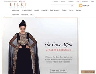 kalkifashion.com screenshot