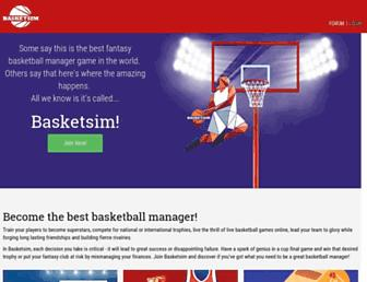 Thumbshot of Basketsim.com