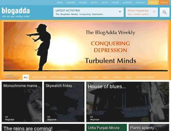 Thumbshot of Blogadda.com