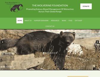 wolverinefoundation.org screenshot