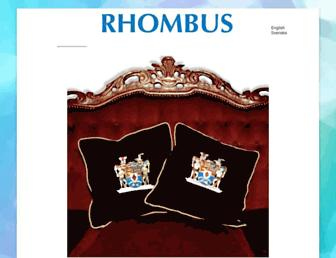 rhombus.se screenshot