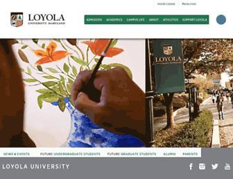 Thumbshot of Loyola.edu