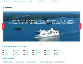 tallinksilja.com screenshot