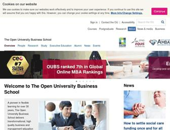business-school.open.ac.uk screenshot