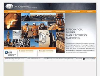 omholdingsltd.com screenshot