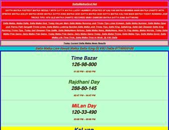 sattamatkagod.net screenshot