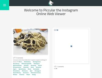 piccular.com screenshot
