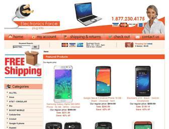 electronicsforce.com screenshot