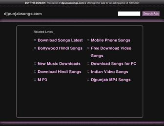 djpunjabsongs.com screenshot
