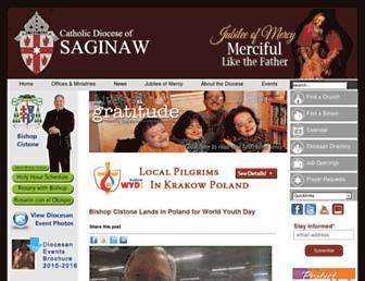 saginaw.org screenshot