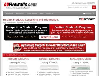 avfirewalls.com screenshot