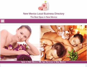 newmexico.salonandspadirectory.org screenshot