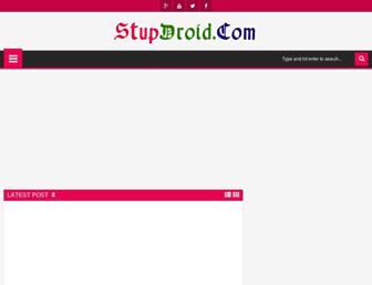 stupdroid.com screenshot
