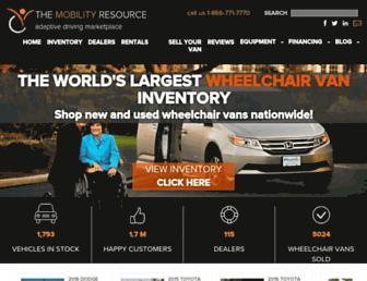 themobilityresource.com screenshot