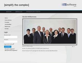 sd-software.de screenshot