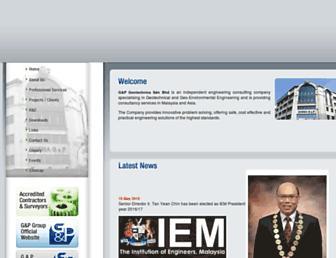 gnpgeo.com.my screenshot