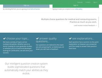 mcqs.com screenshot