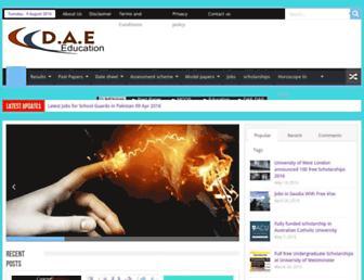 daeeducation.com screenshot