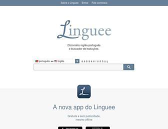 linguee.pt screenshot