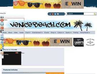 venicebeach.com screenshot